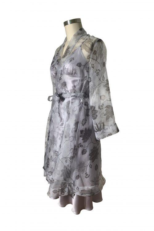 Image of Elizabeth V silk organza Nella robe
