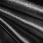 Image of black colour silk