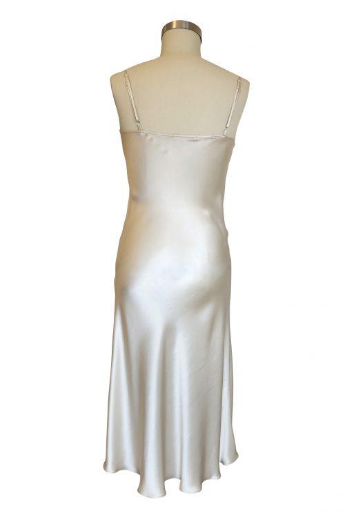 Image of Elizabeth V silk satin Ella slip dress