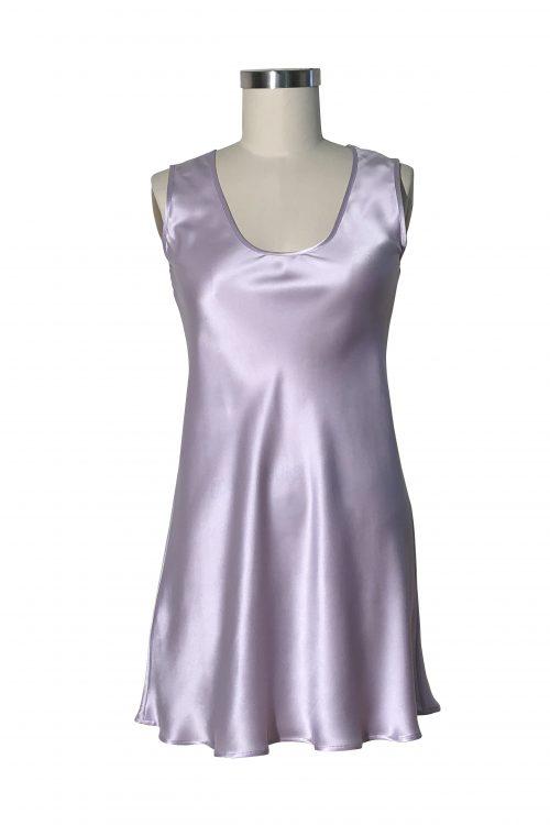 Image of Elizabeth V silk satin Millie slip dress